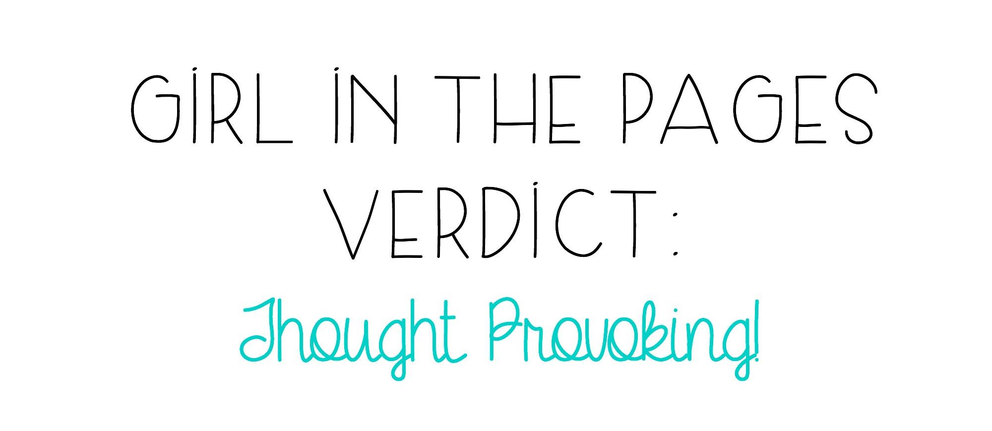 verdictthoughtprovoking